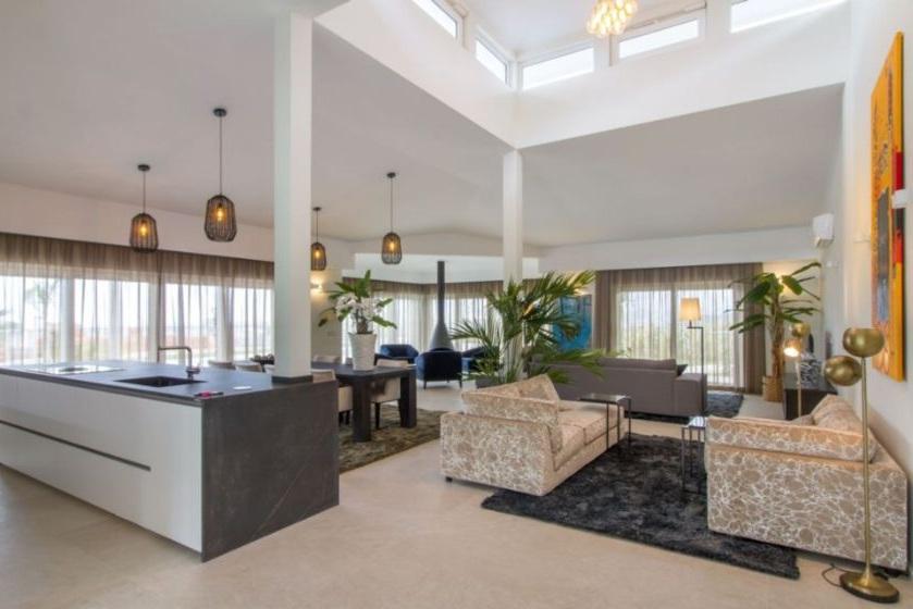 living room Sierra de Altea villa for sale