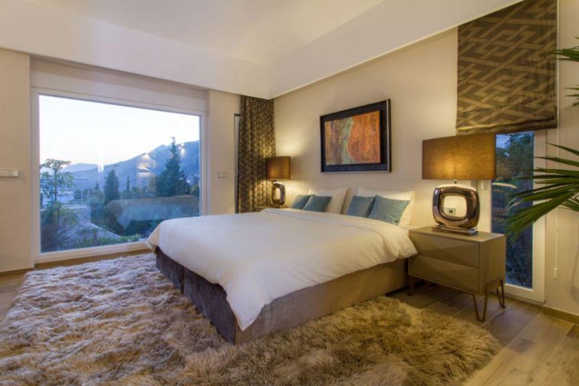 master bedroom Sierra de Altea villa for sale