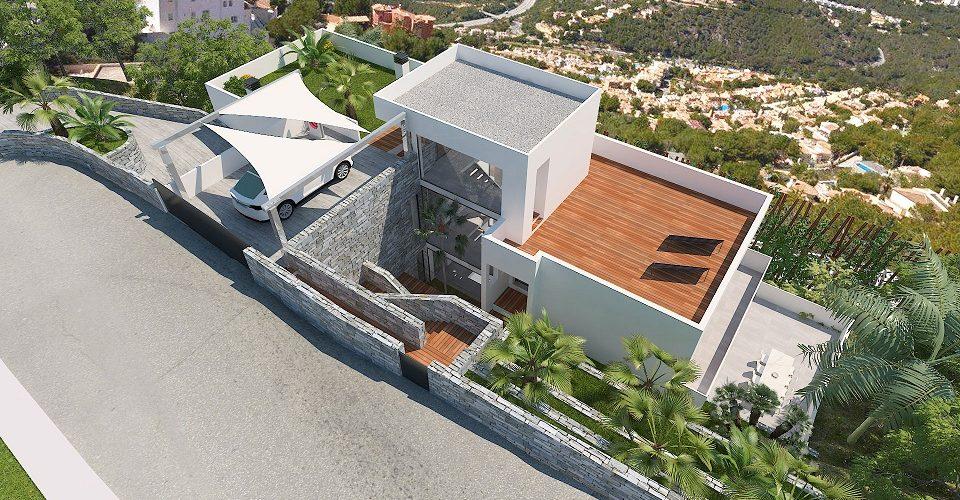 Rooftop New Build Altea
