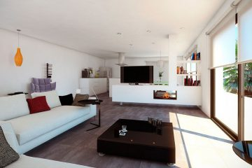 Living room New Build Altea