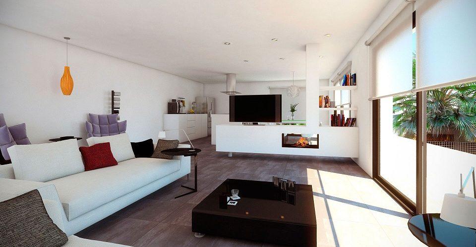 Living room New Build Altea