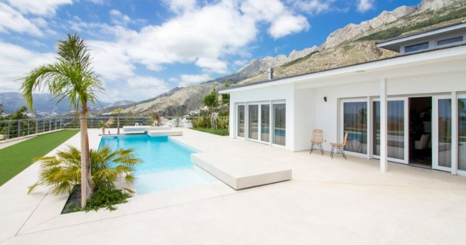 pool Sierra de Altea villa for sale