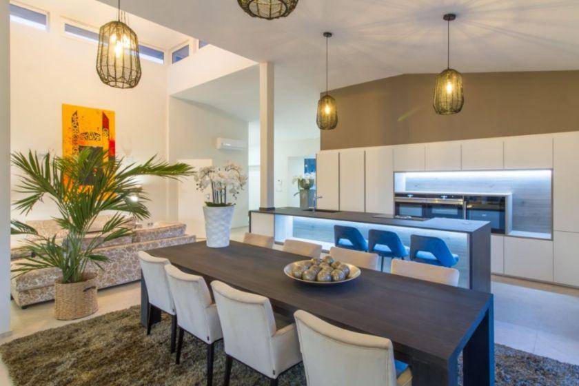 Kitchen & Dining Sierra de Altea villa for sale