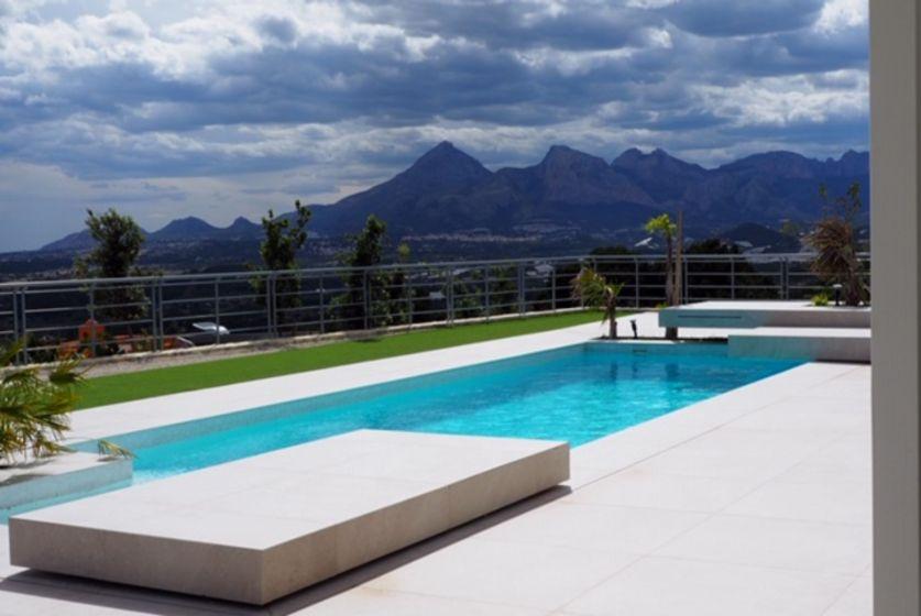 pool Sierra de Altea villa for sale