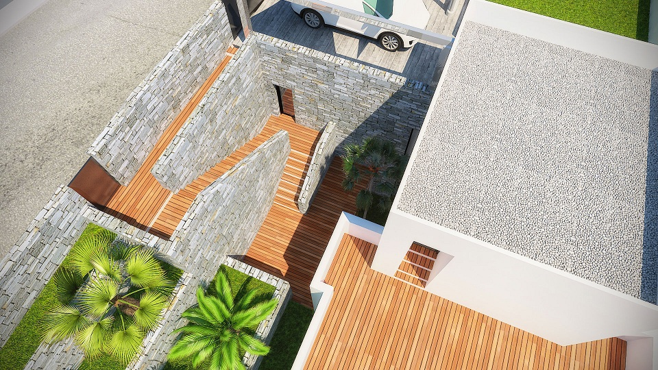top view Altea New Build