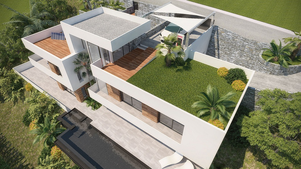 Rooftop New Build Altea