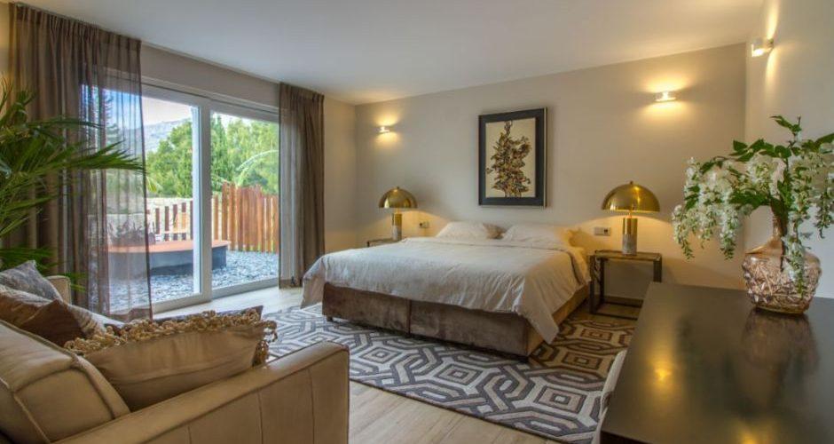 bedroom Sierra de Altea villa for sale